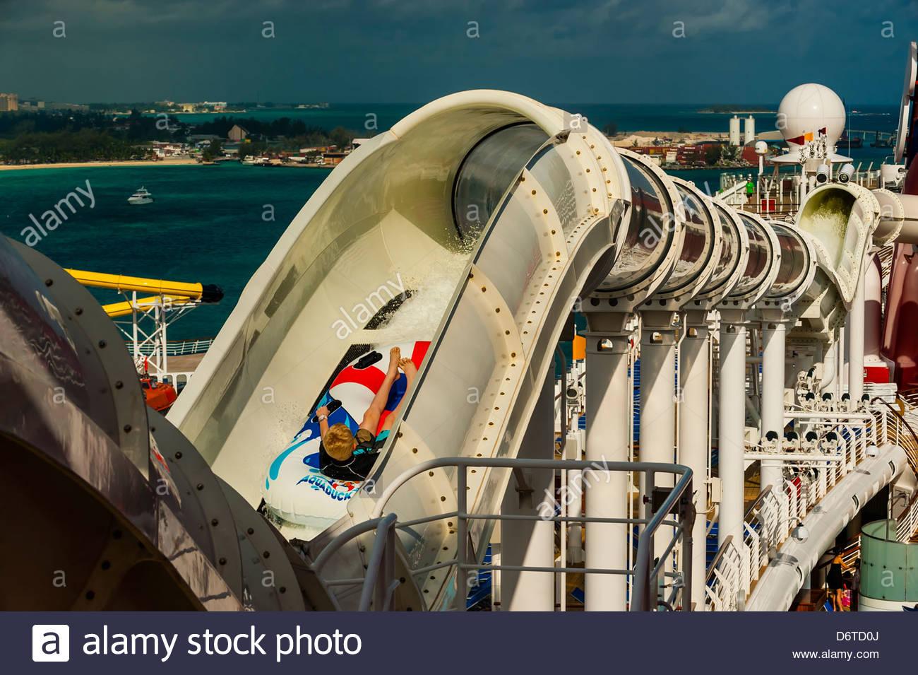 Cruise Ship Disney Dream Disney Cruise Line Docked At Nassa