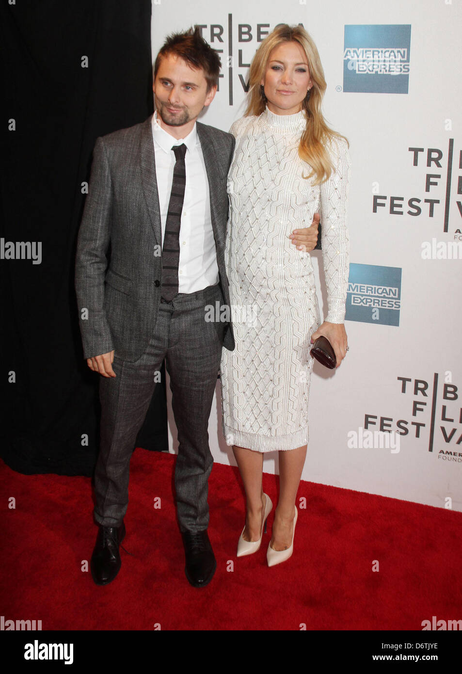 New york us april 22 2013 muse singer matt bellamy and actress new york us april 22 2013 muse singer matt bellamy and actress kate hudson attend the premiere of the reluctant fundamentist held during the tribeca voltagebd Image collections