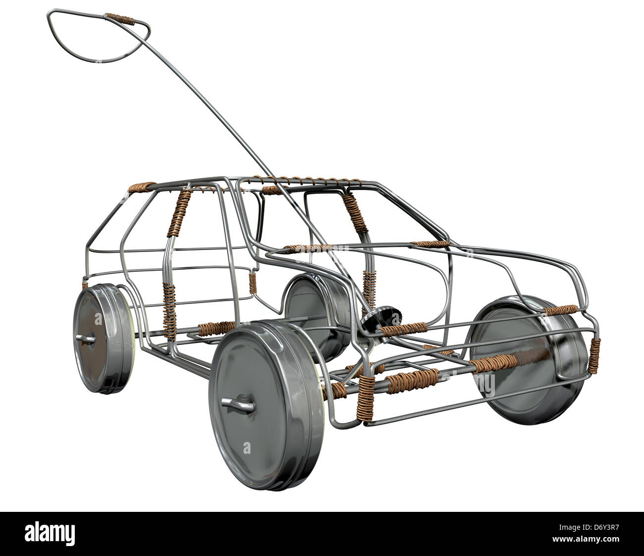 Vehicle Wiring Copper Aluminum : A traditional south african handmade wire toy car made out