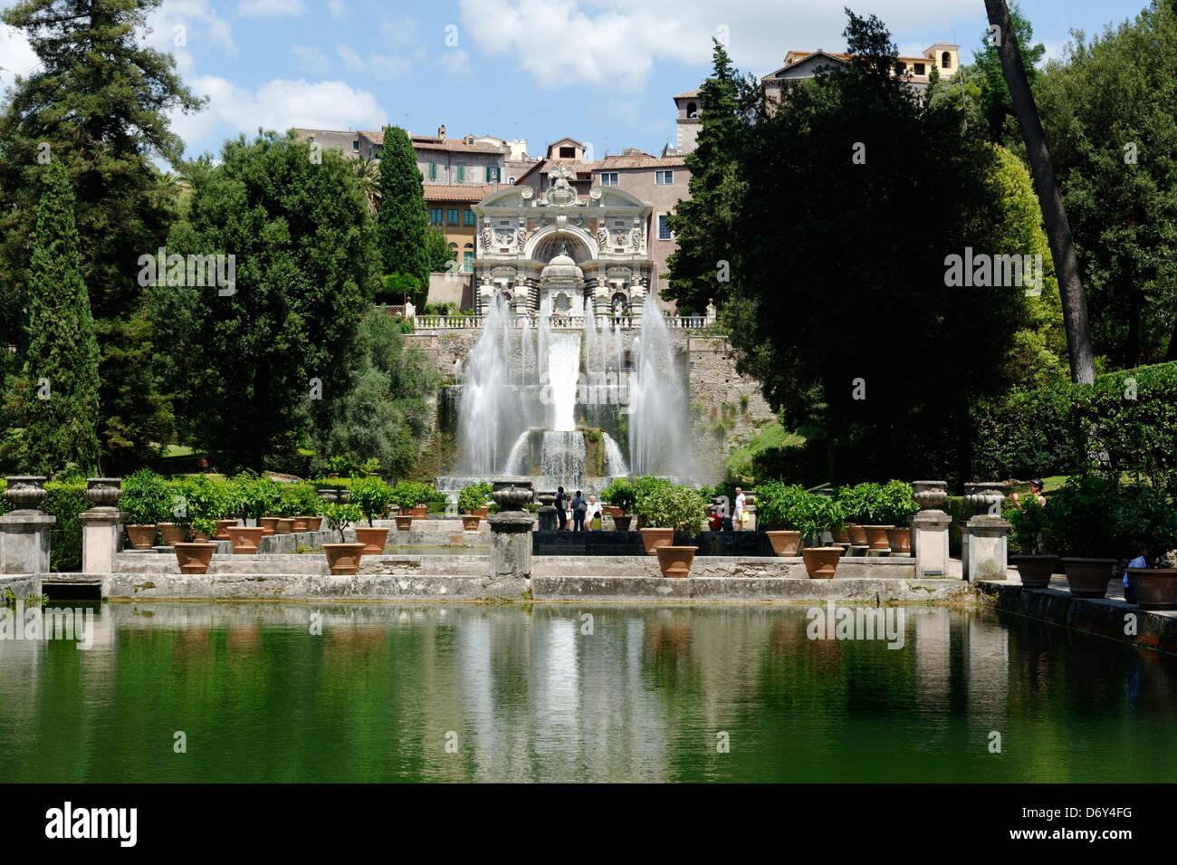 Tivoli Garden Italy Garden Ftempo