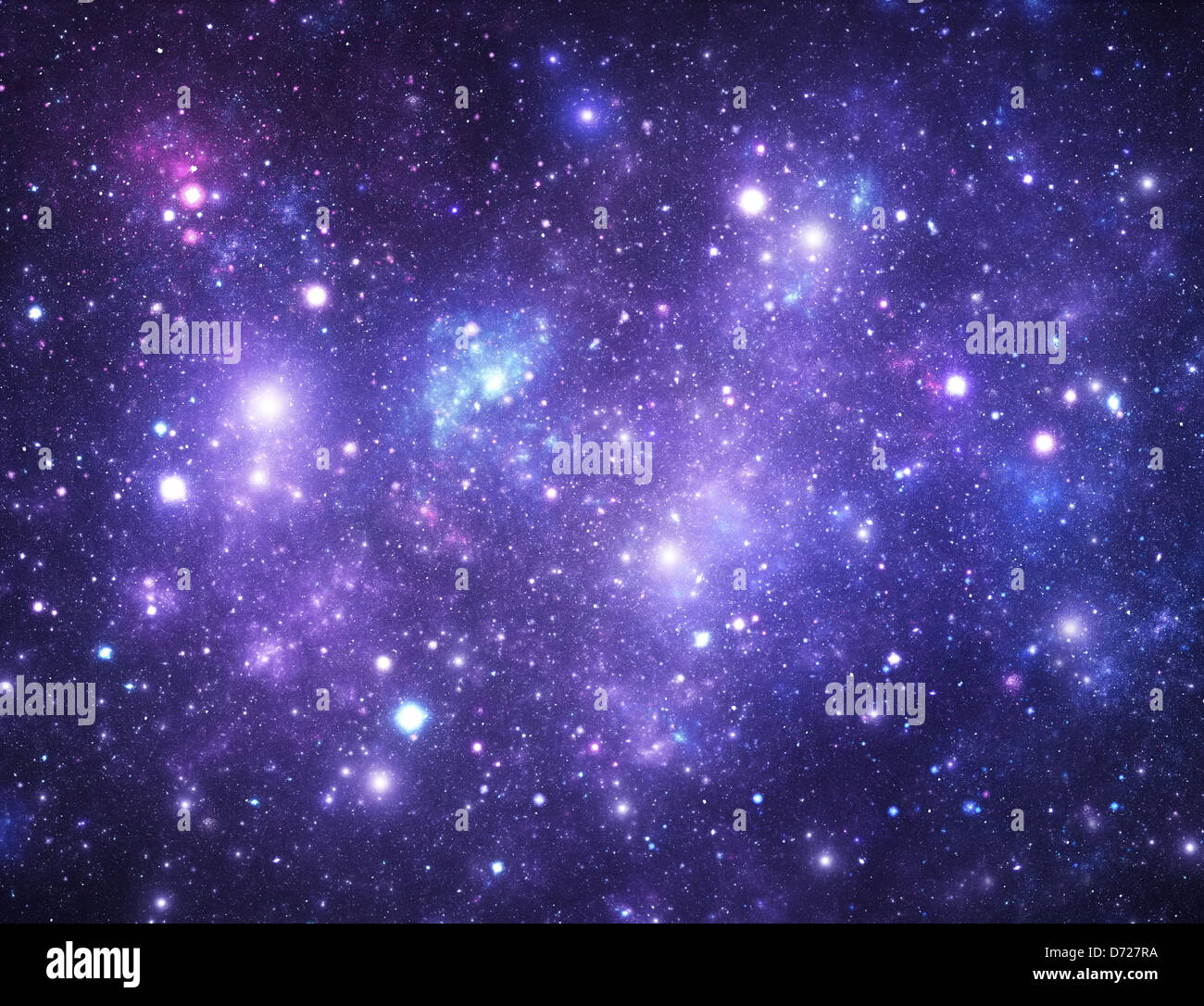 Bright space galaxy background Stock Photo Royalty Free Image