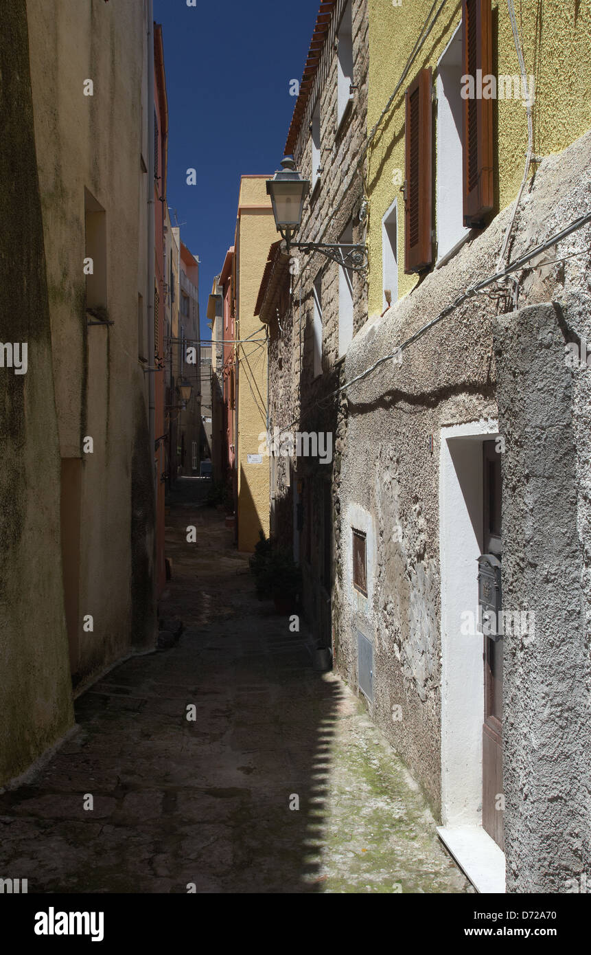 Castelsardo Italy  City new picture : Castelsardo, Italy, Narrow Streets In The Old Town Stock Photo ...