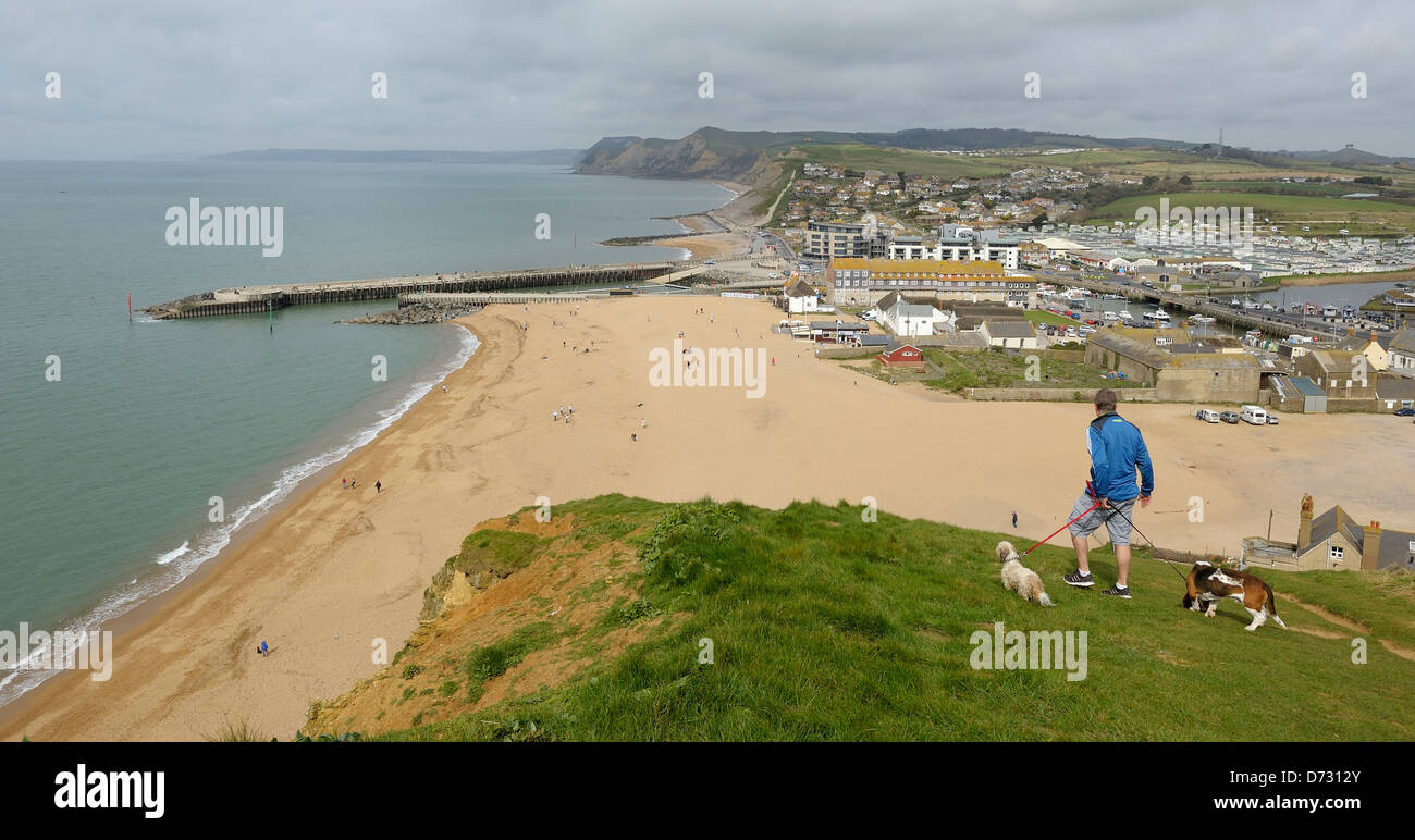 west bay dorset one of the filming locations for the. Black Bedroom Furniture Sets. Home Design Ideas