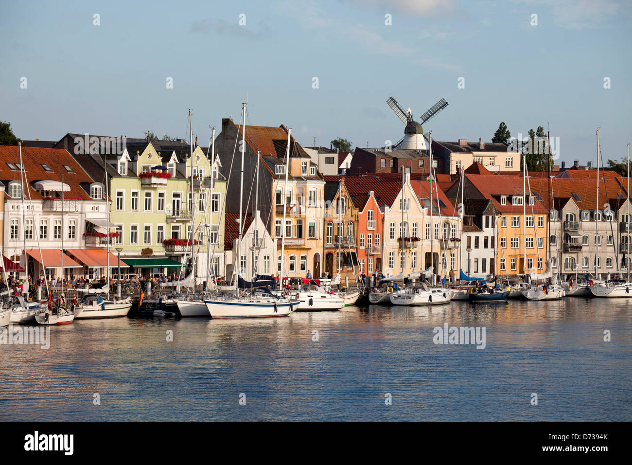 Cityscape, Sonderborg, Denmark, Europe Stock Photo, Royalty Free Image: 56006739 - Alamy