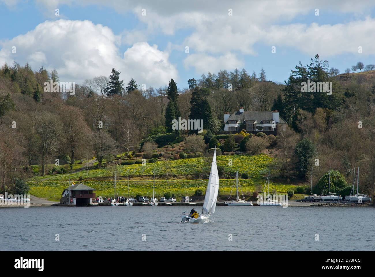 Broad Leys On Eastern Shore Of Lake Windermere Hq Of