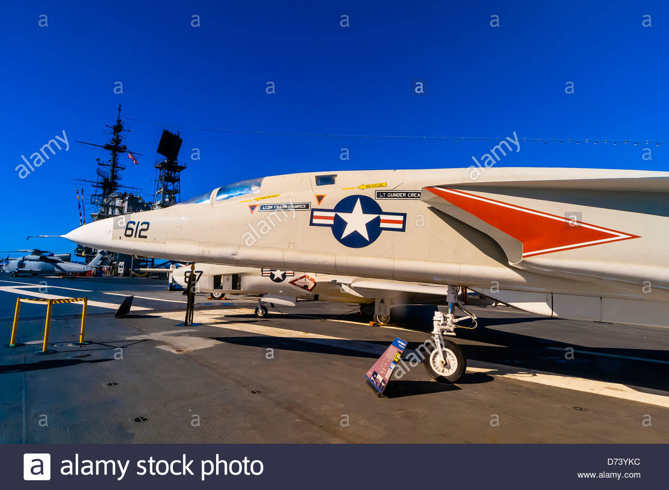 Uss Midway Museum Aircraft Carrier Embarcadero San Diego Stock Photo Royalty Free Image