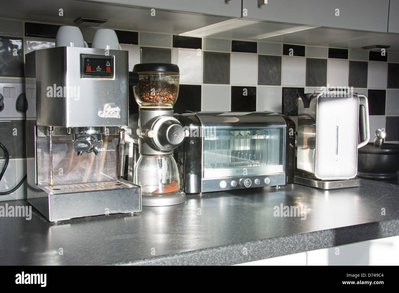 Modern Kitchen Appliances Stock Photos Modern Kitchen Appliances