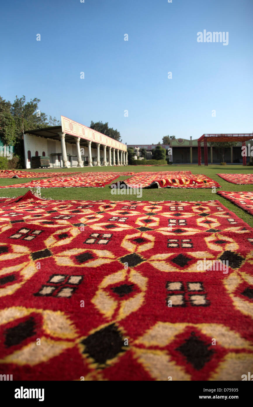 Carpets At Traditional Indian Wedding Venue