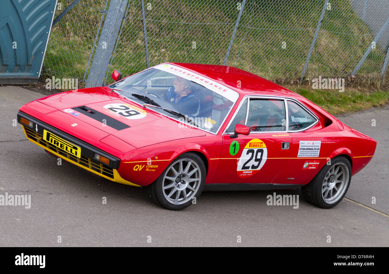 1977 Ferrari 308 Gt4 With Driver William Moorwood In The