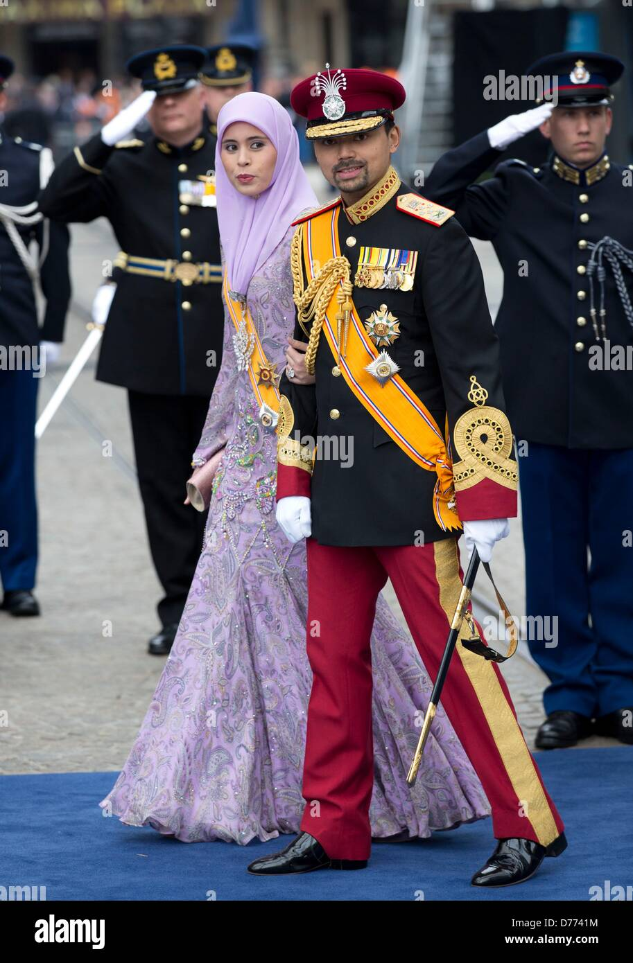 Prince al muhtadee billah of brunei darussalam and princess sarah of stock photo royalty free - Princesse sarah 30 ...