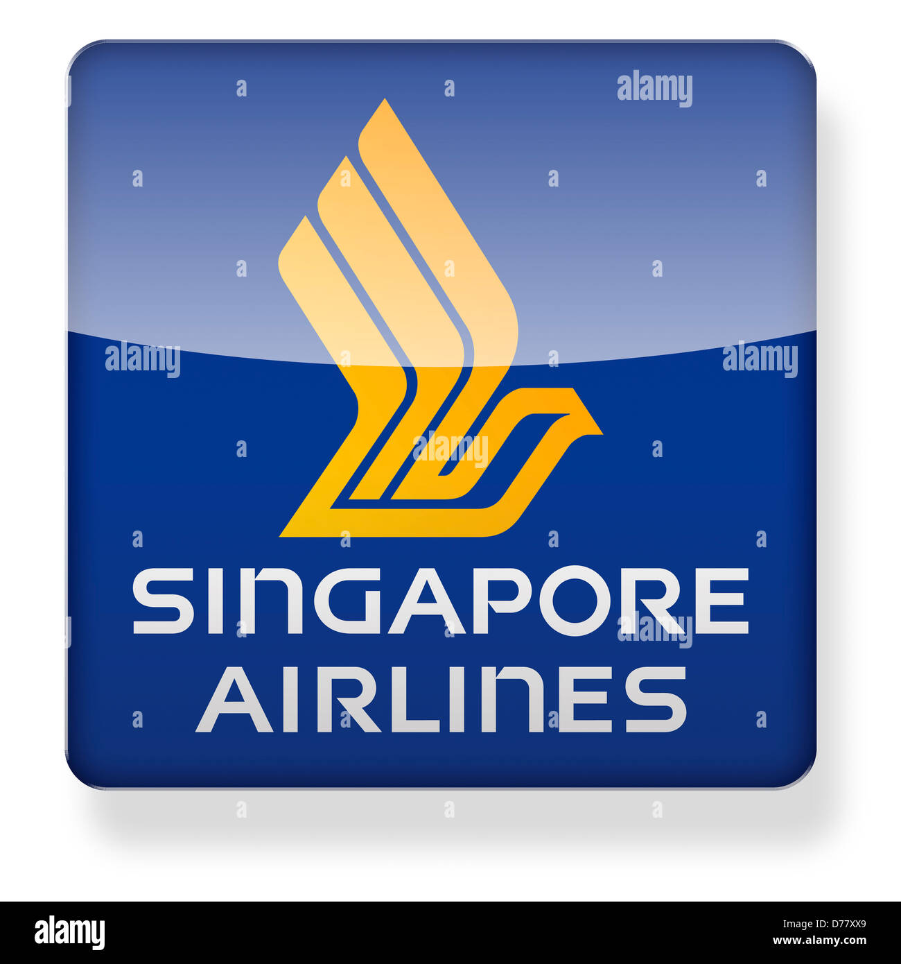 Singapore airlines logo as an app icon clipping path for Singapore airlines sito italiano