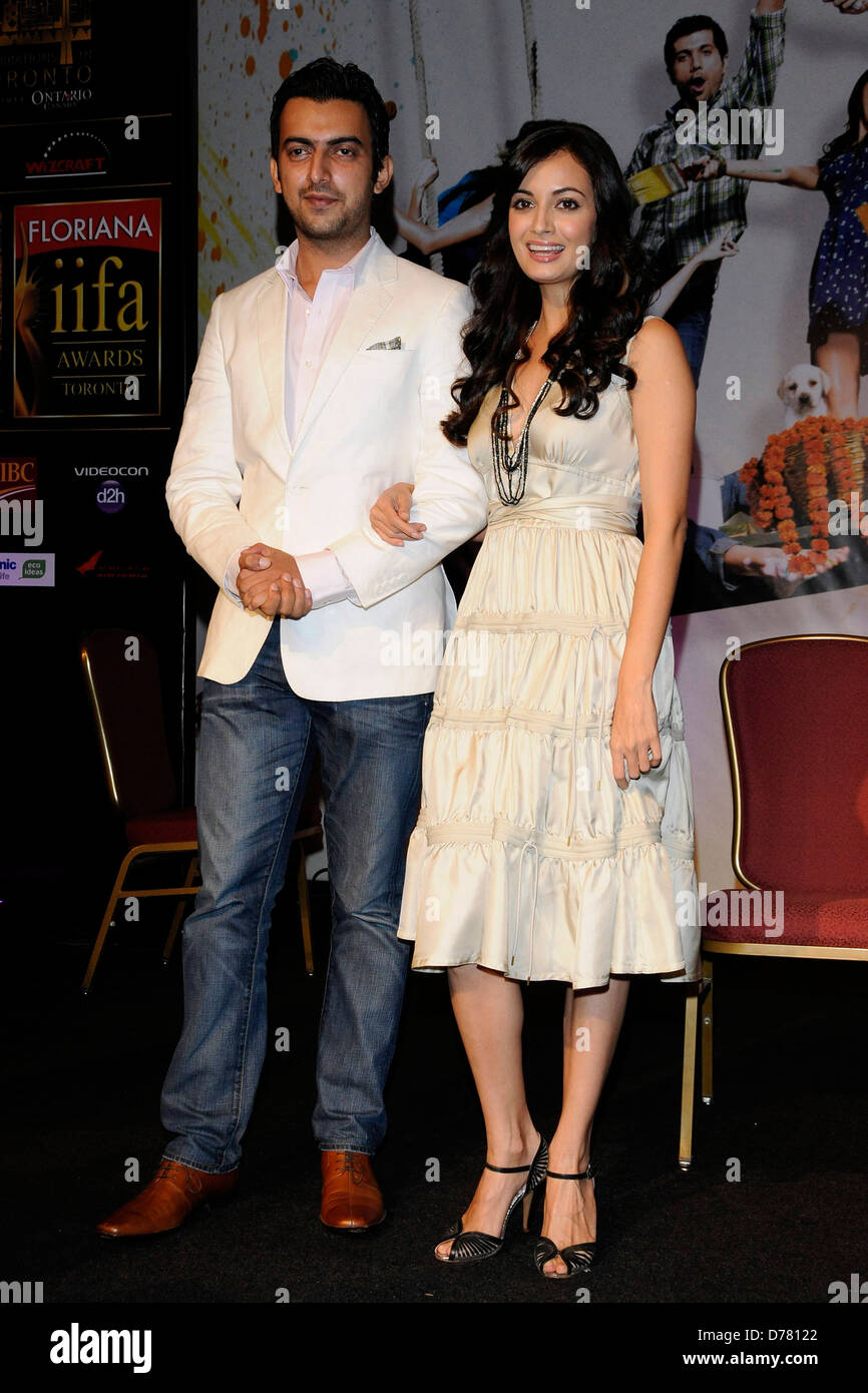 dia mirza and sahil sangha relationship advice
