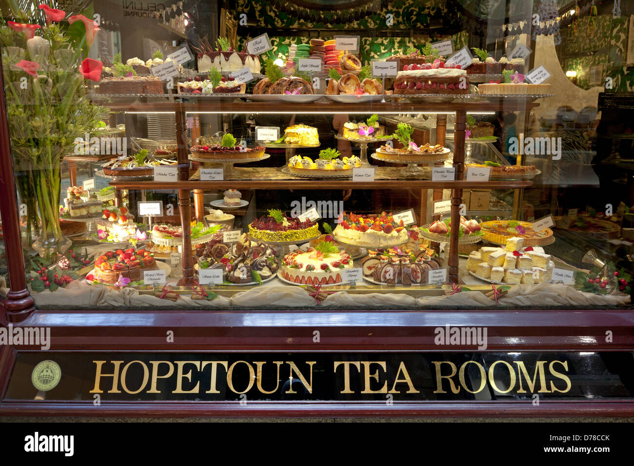 Hopetoun Tea Room Cakes