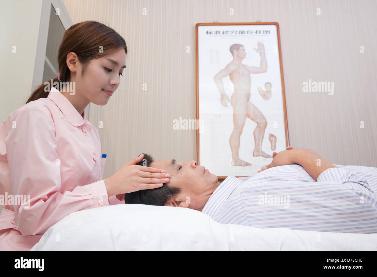 chinese masseuse gives naked massage video
