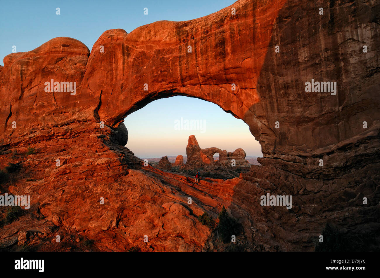 Turret Arch Through North Window Royalty Free Stock Photo - Image ...