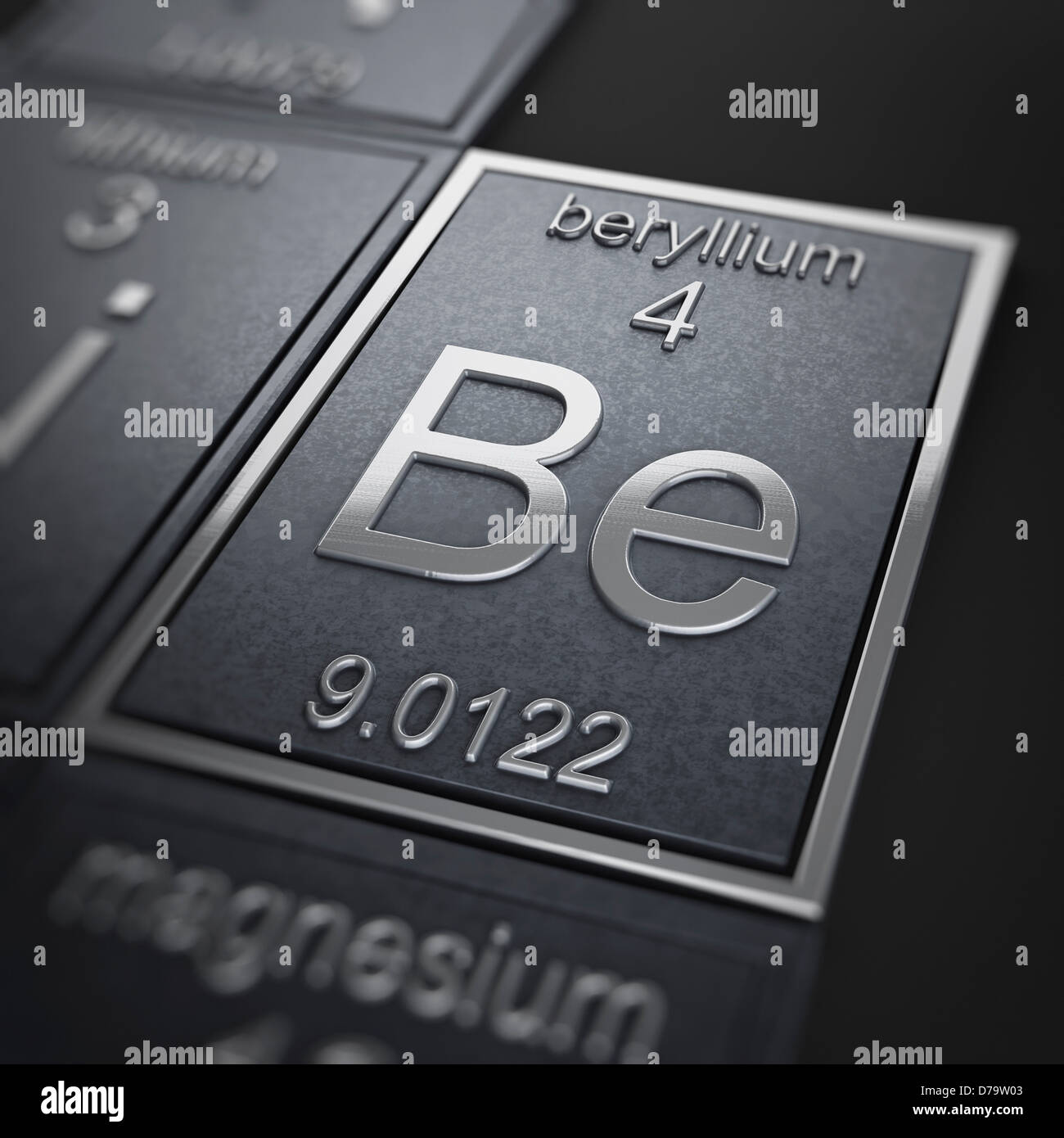 Beryllium chemical element stock photo 56150867 alamy beryllium chemical element buycottarizona Image collections