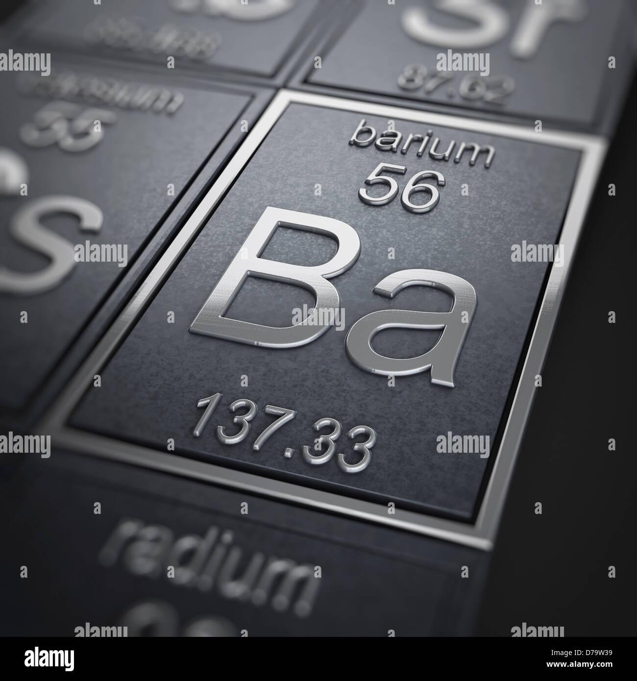 Barium chemical element stock photo 56150957 alamy barium chemical element biocorpaavc Images