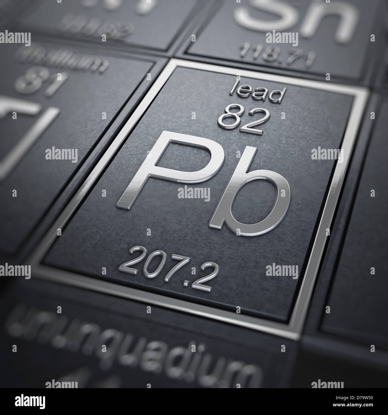 Lead Chemical Element Stock Photo, Royalty Free Image: 56151004 ...