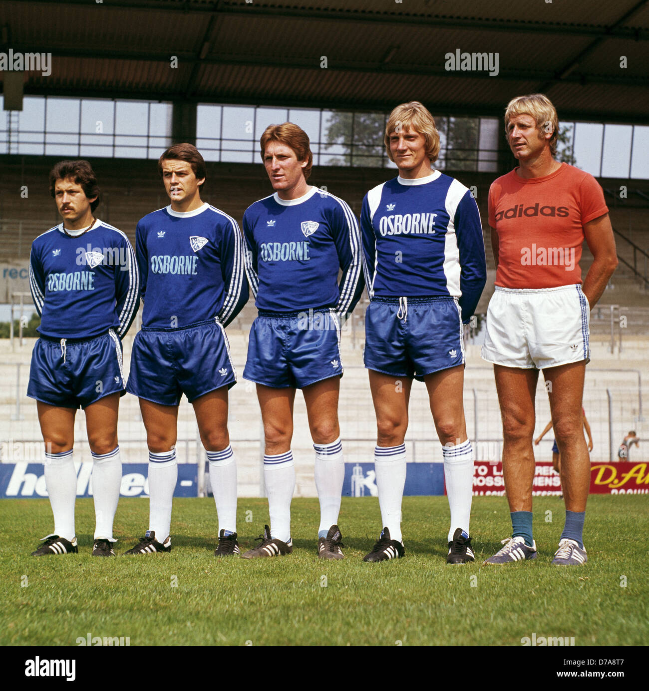 Sports football bundesliga 1977 1978 vfl bochum team for Sport bundesliga