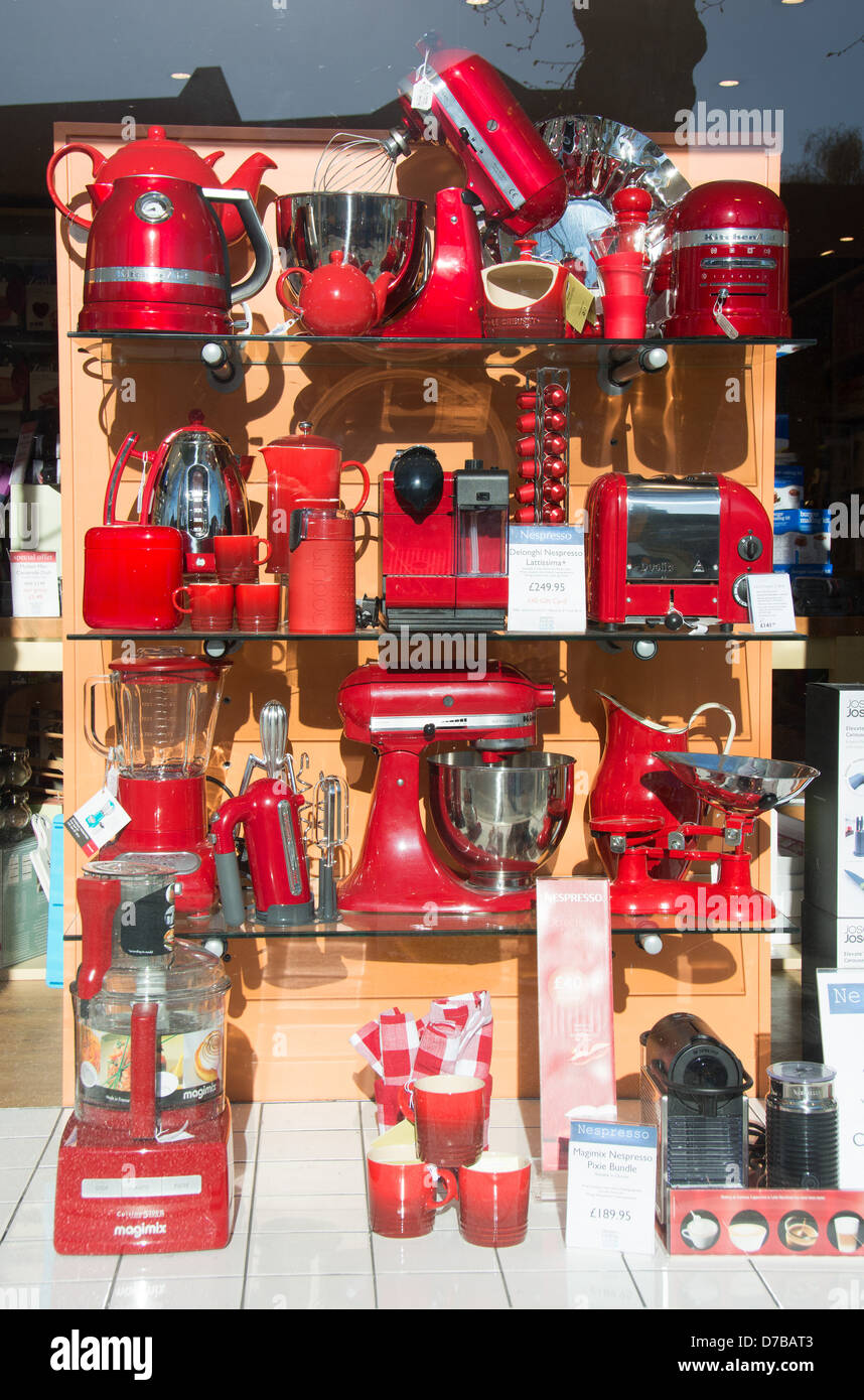 Uncategorized Shop Kitchen Appliances modern kitchen appliances and utensils in a kitchenware shop window uk 2013