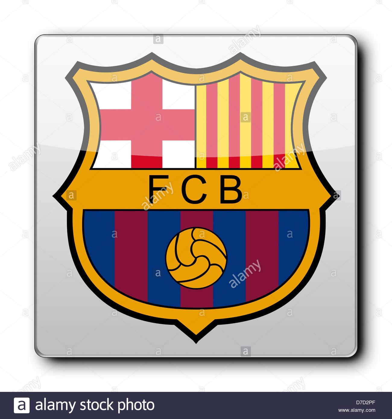 Fc barcelona logo icon app banner flag stock photo royalty free fc barcelona logo icon app banner flag biocorpaavc