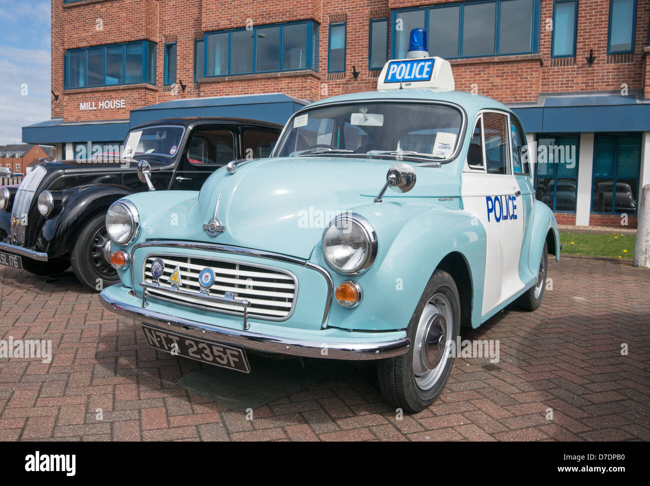 Restored Morris MInor Police car Lincoln Classic Car Rally ...