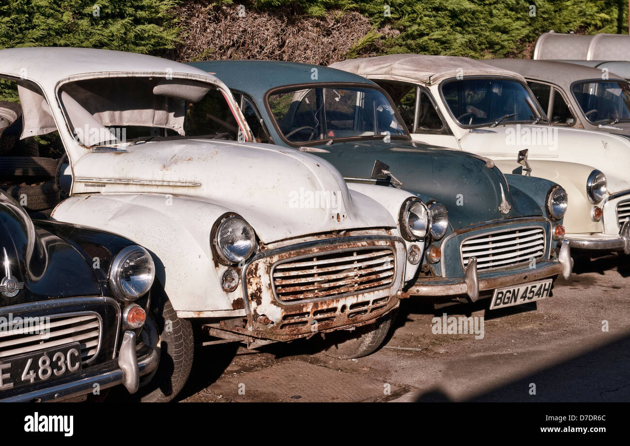Old Morris Minor Cars for Restoration Stock Photo: 56237284 - Alamy