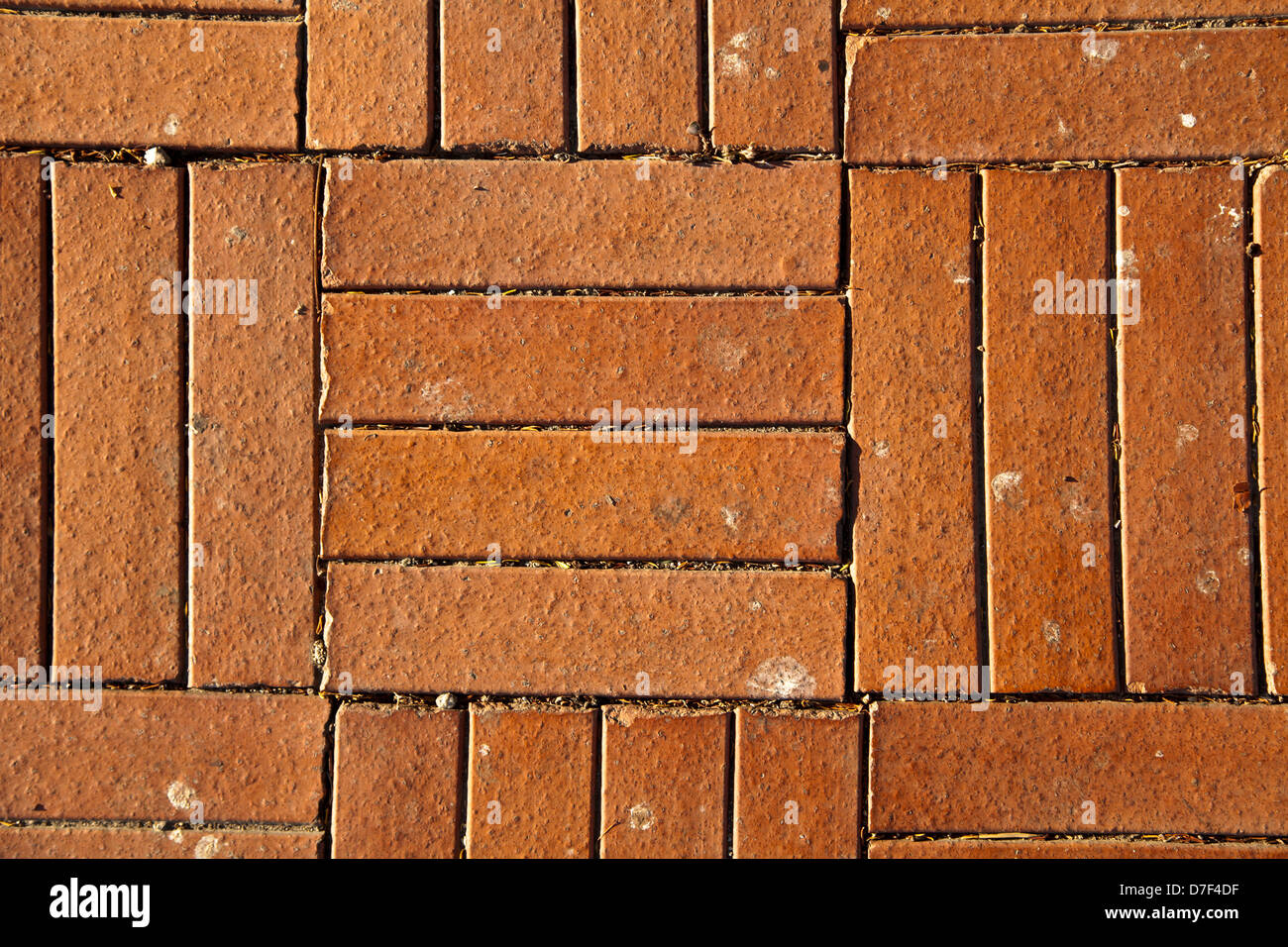 Brick shaped wall tiles floor and decorations gallery floor and red brick shaped floor tiles lit by direct afternoon sun good as red brick shaped floor dailygadgetfo Gallery