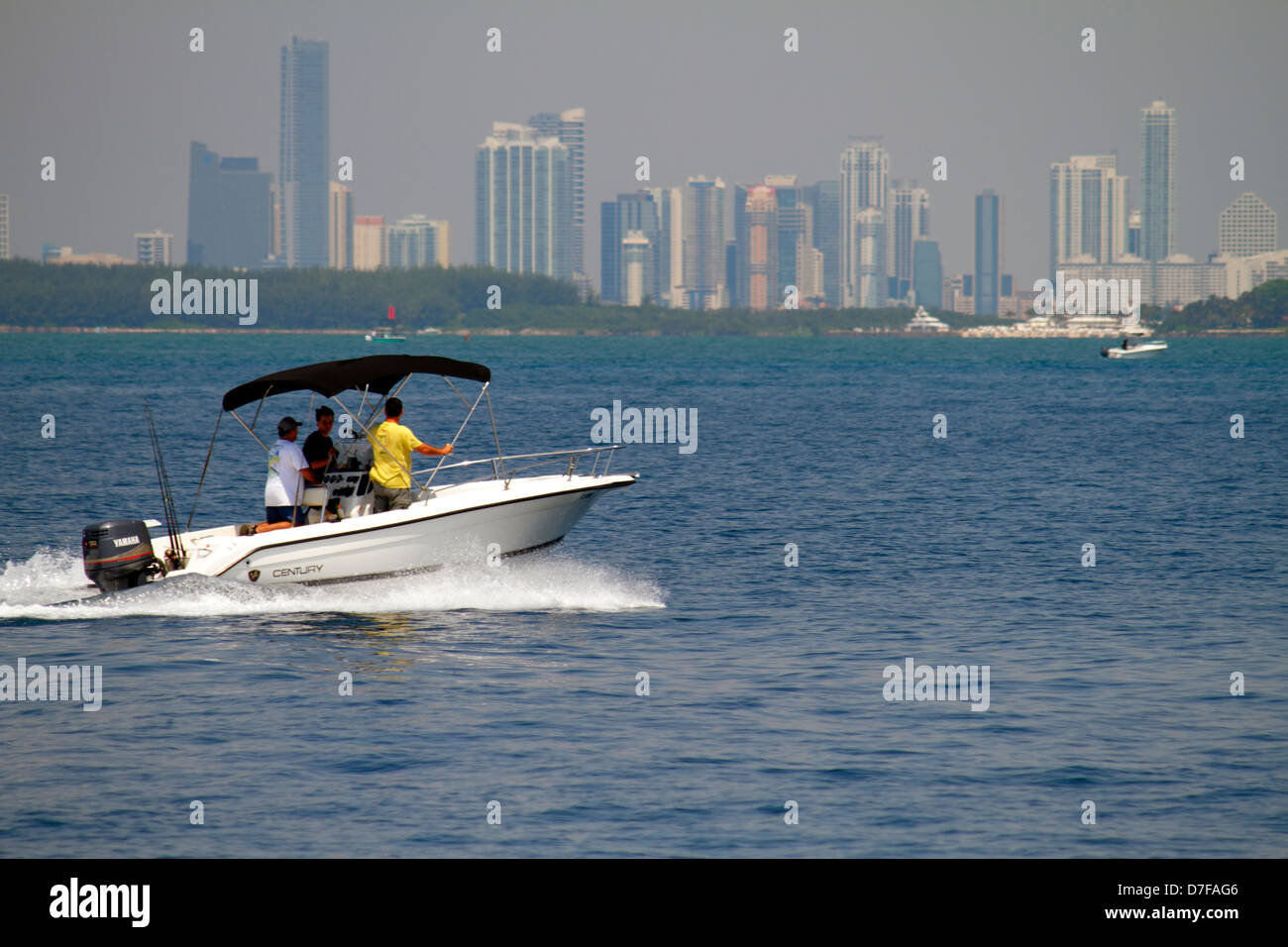 miami beach florida atlantic ocean boat boating deep sea
