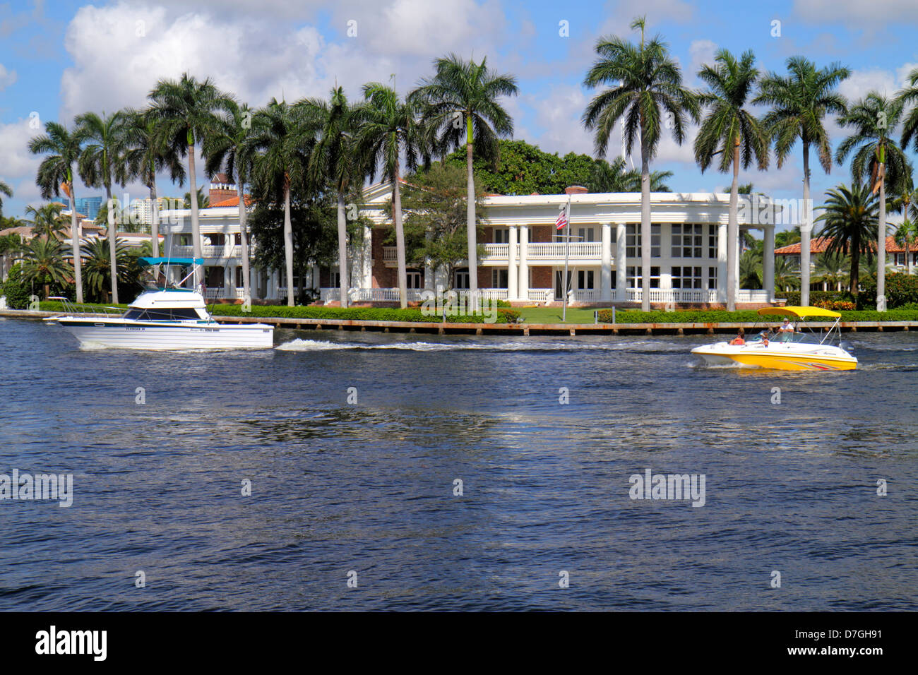 fort lauderdale florida ft intracoastal waterway new