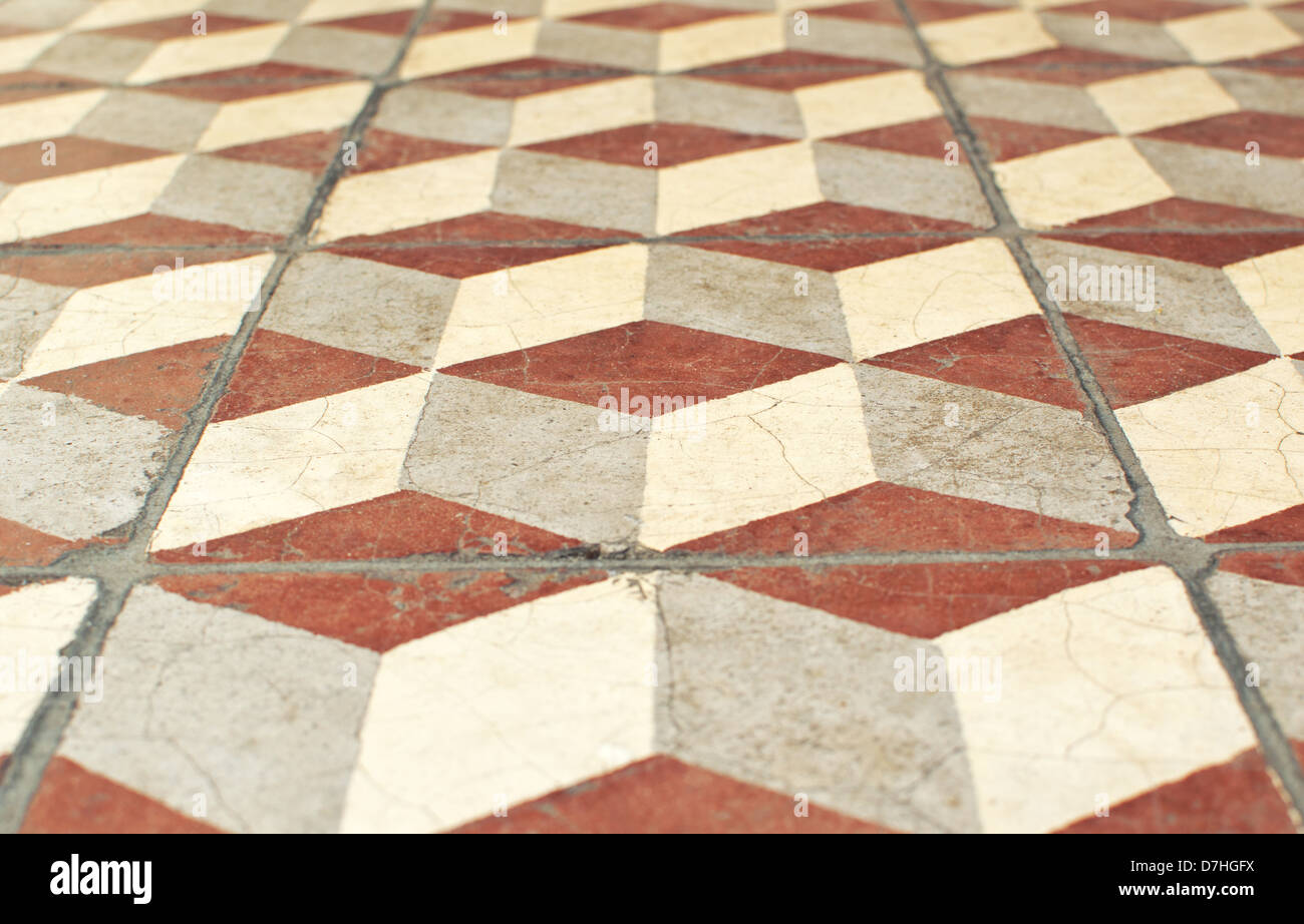 Dimensional ceramic tile images tile flooring design ideas view of ceramic tile 3 dimensional cubes illusion stock photo view of ceramic tile 3 dimensional doublecrazyfo Image collections