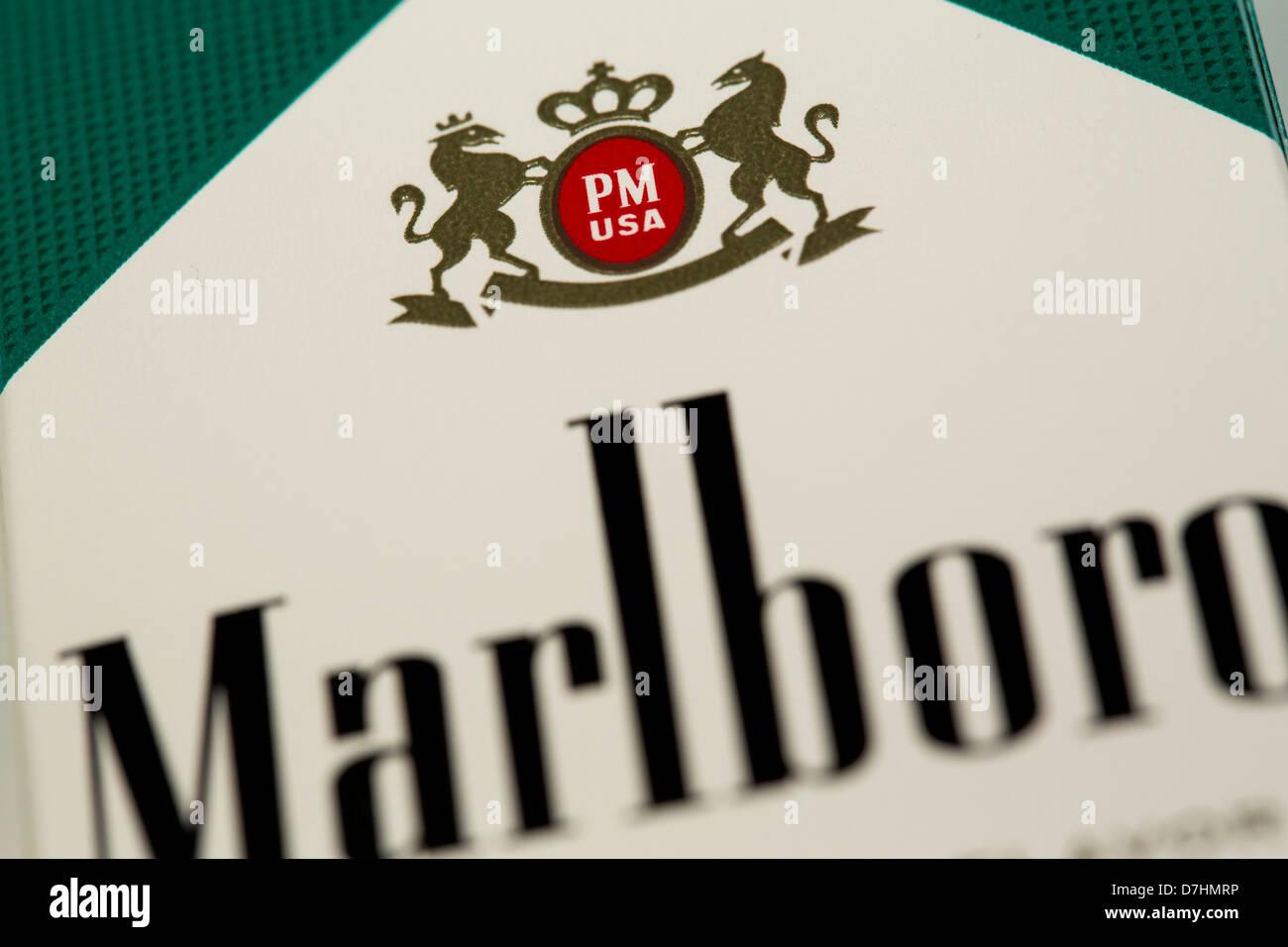 Cigarettes Marlboro sold in Dublin