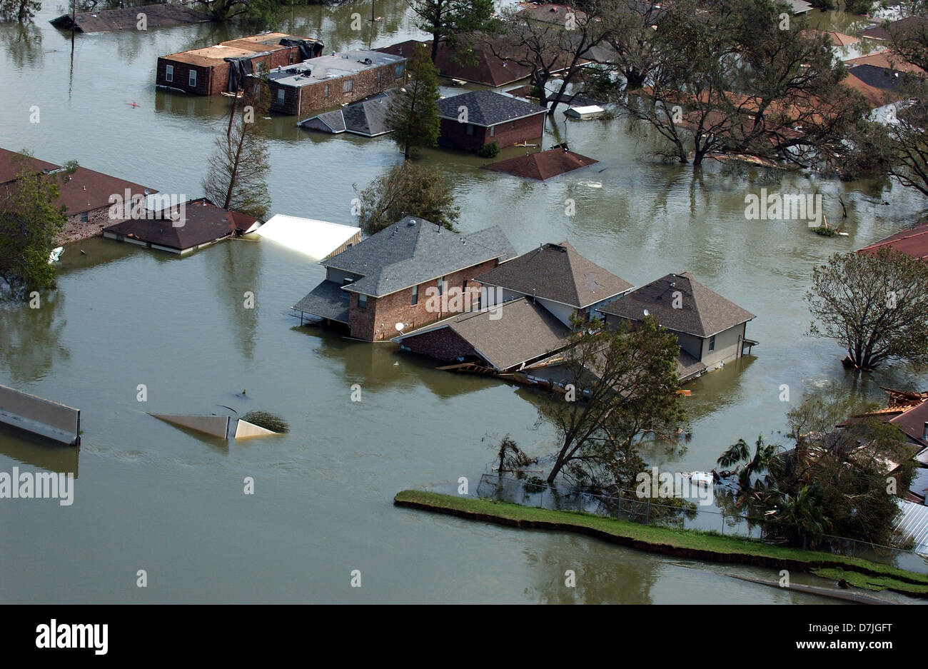 Destruction of flood