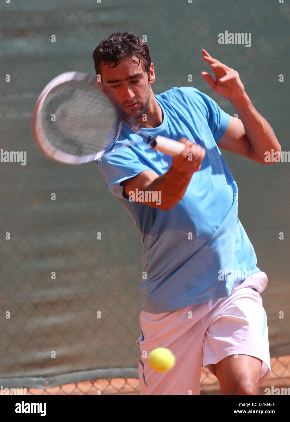 Professional tennis player Marin Cilic of Croatia in ... |Marin Cilic Tennis Player