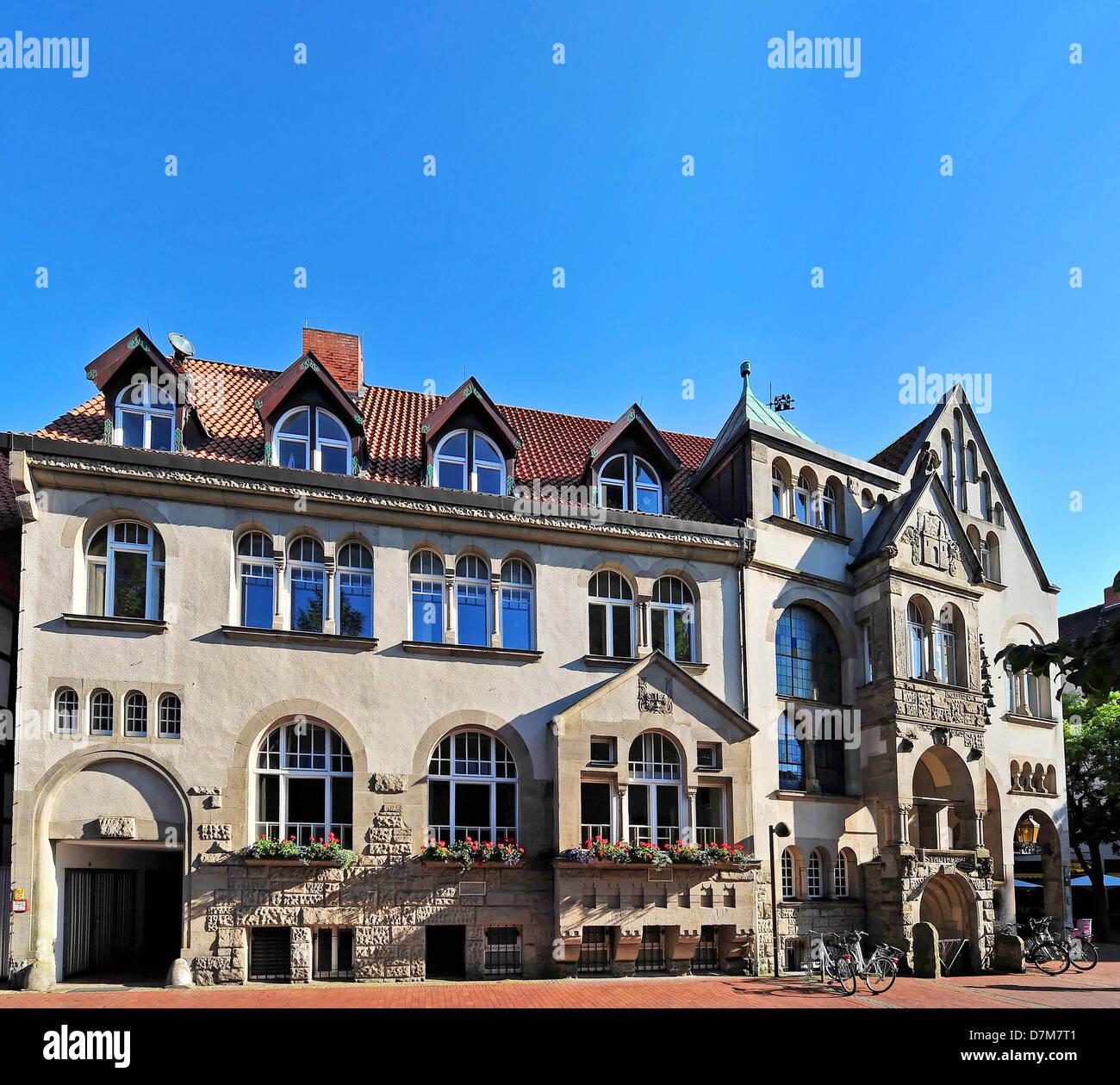 Home Wunstorf germany lower saxony wunstorf townhall stock photo royalty free