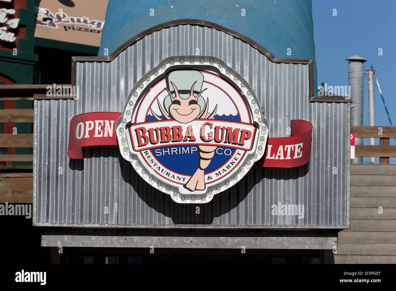bubba gump shrimp company restaurant on pier 39 fisherman