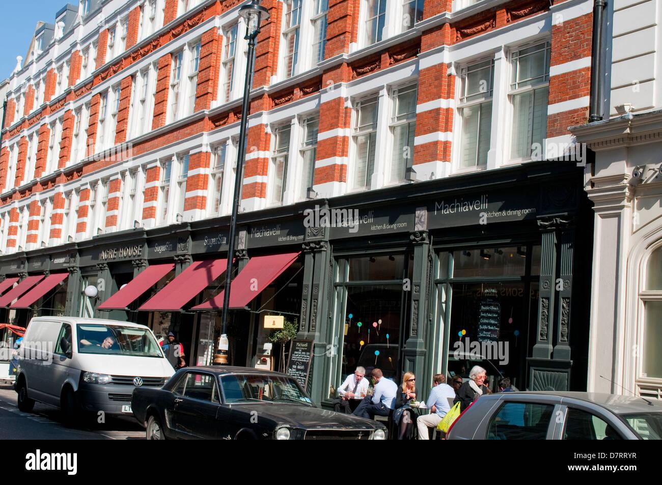 Machiavelli Restaurant In Long Acre Street Covent Garden London UK