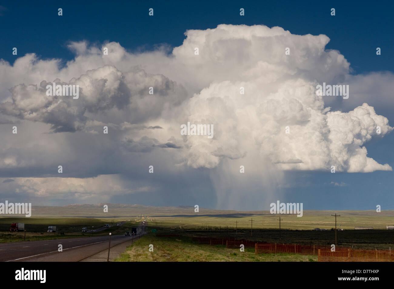 Virga Clouds Cumulus clouds ...