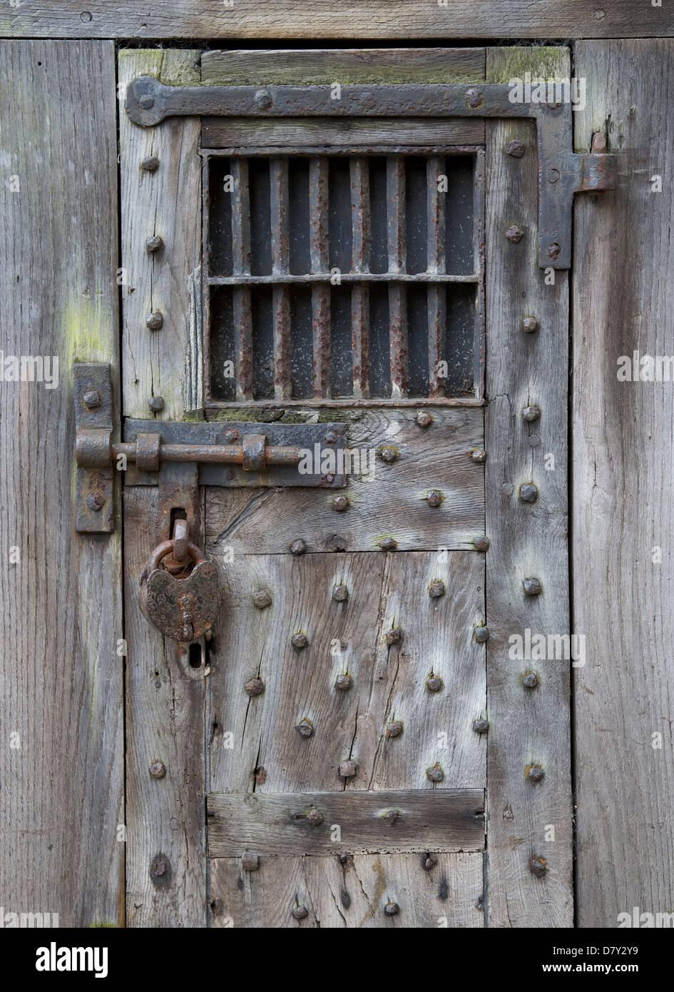 Old Prison Cell Door In Warwick & Prison Door \u0026 Prison Doors With Handcuff Bolt ... Pezcame.Com