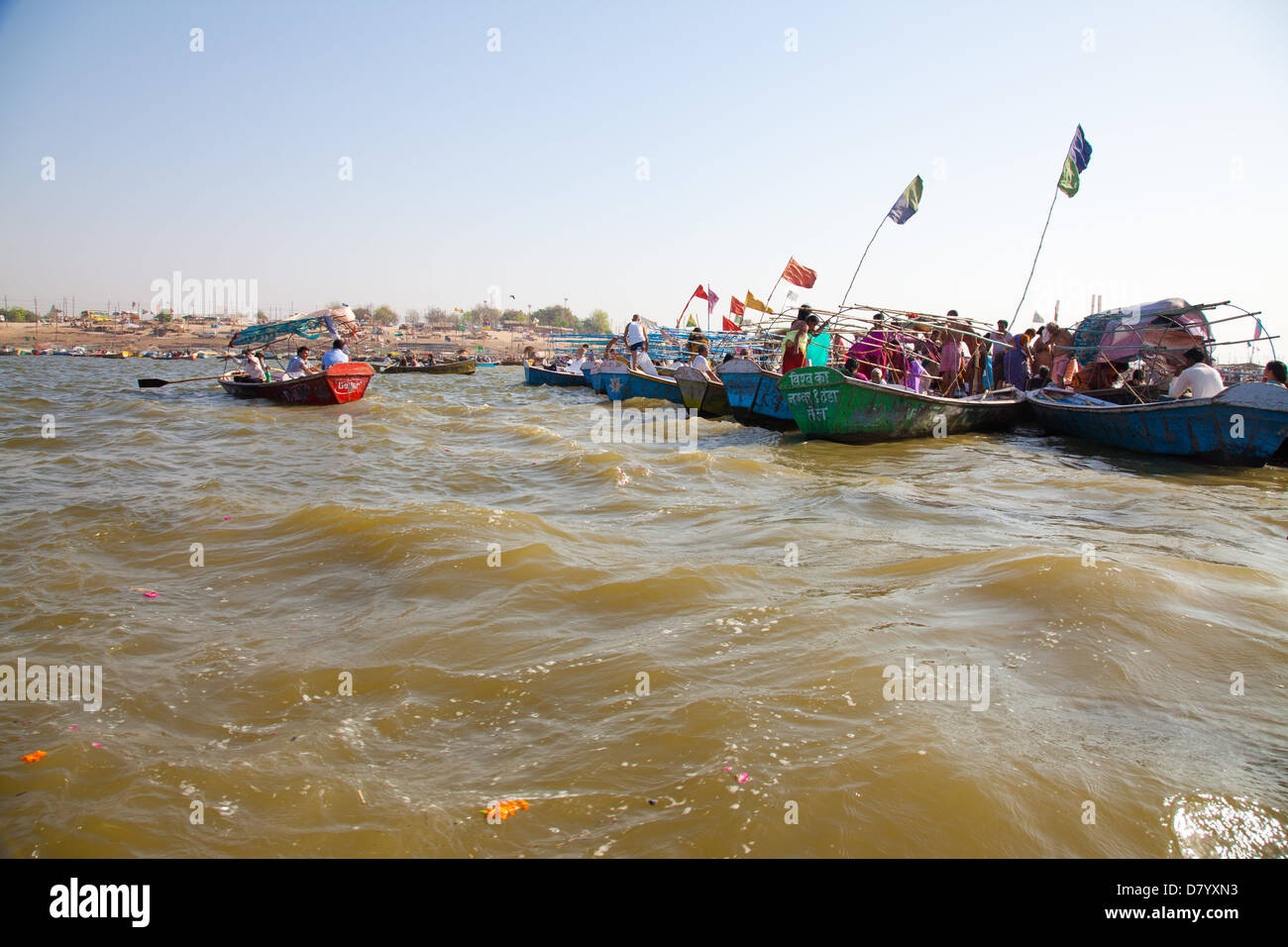 river ganges and yamuna meet at the creek