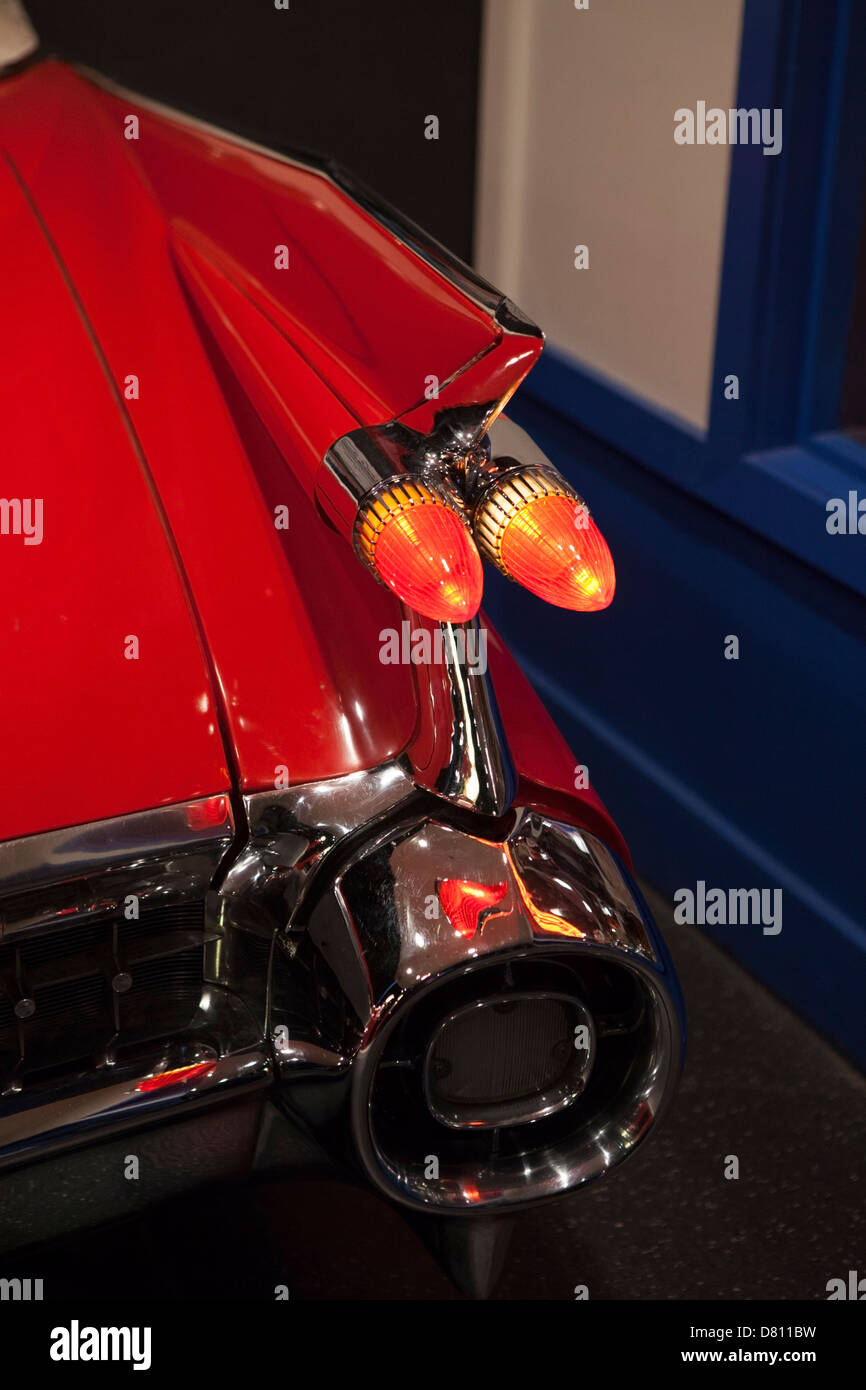 Details of one of Elvis Presley`s cars at Graceland, Memphis Stock ...