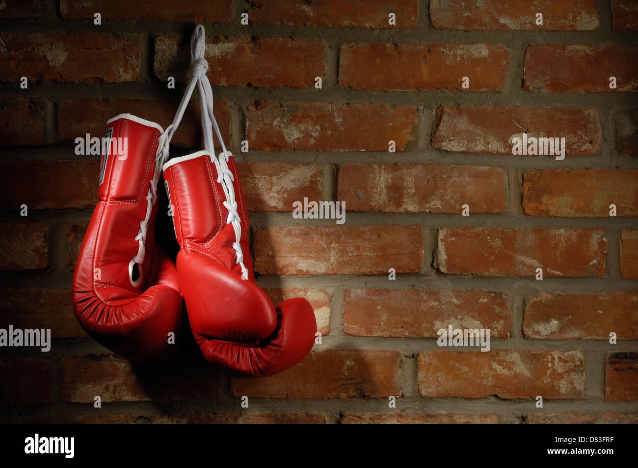 Boxing gloves background