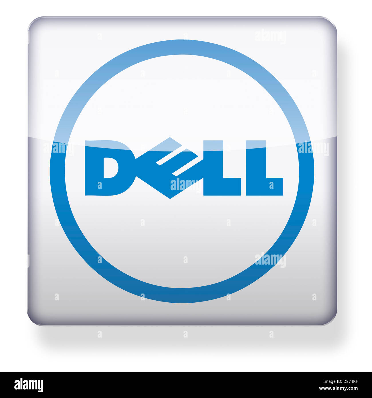Dell logo as an app icon clipping path included stock photo dell logo as an app icon clipping path included buycottarizona