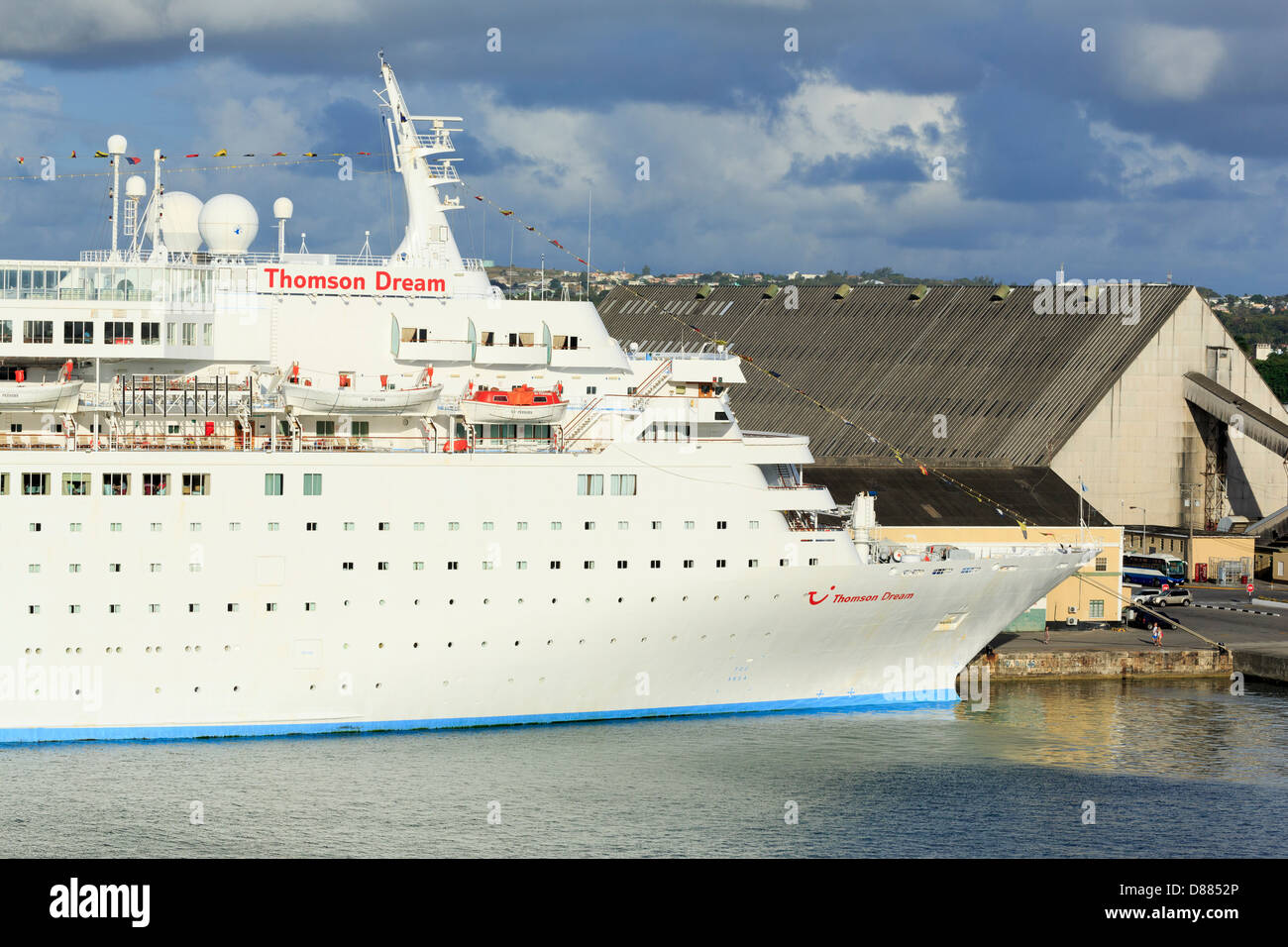 Thomson Dream Cruise Ship In Deep Water Stock Photo Royalty Free - Thomson dream cruise ship latest news