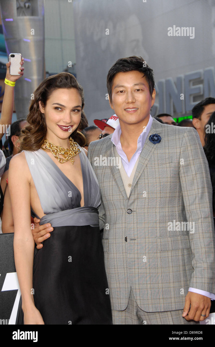 Los Angeles, California, USA. 21st May 2013. Gal Gadot and ...