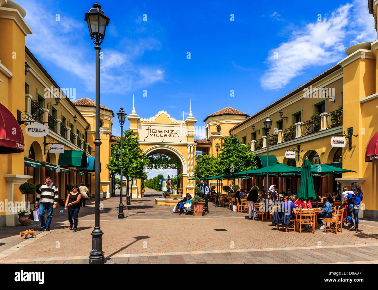 Fidenza outlet village fidenza emilia romagna italy stock photo royalty free image 56775139 - Outlet mobili emilia romagna ...