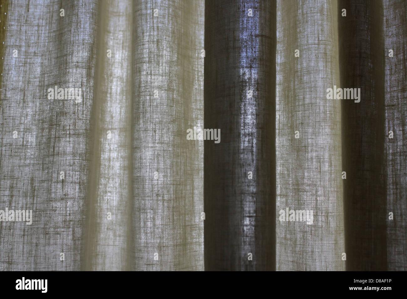 Curtains texture - Stock Photo Light Through Curtains Texture