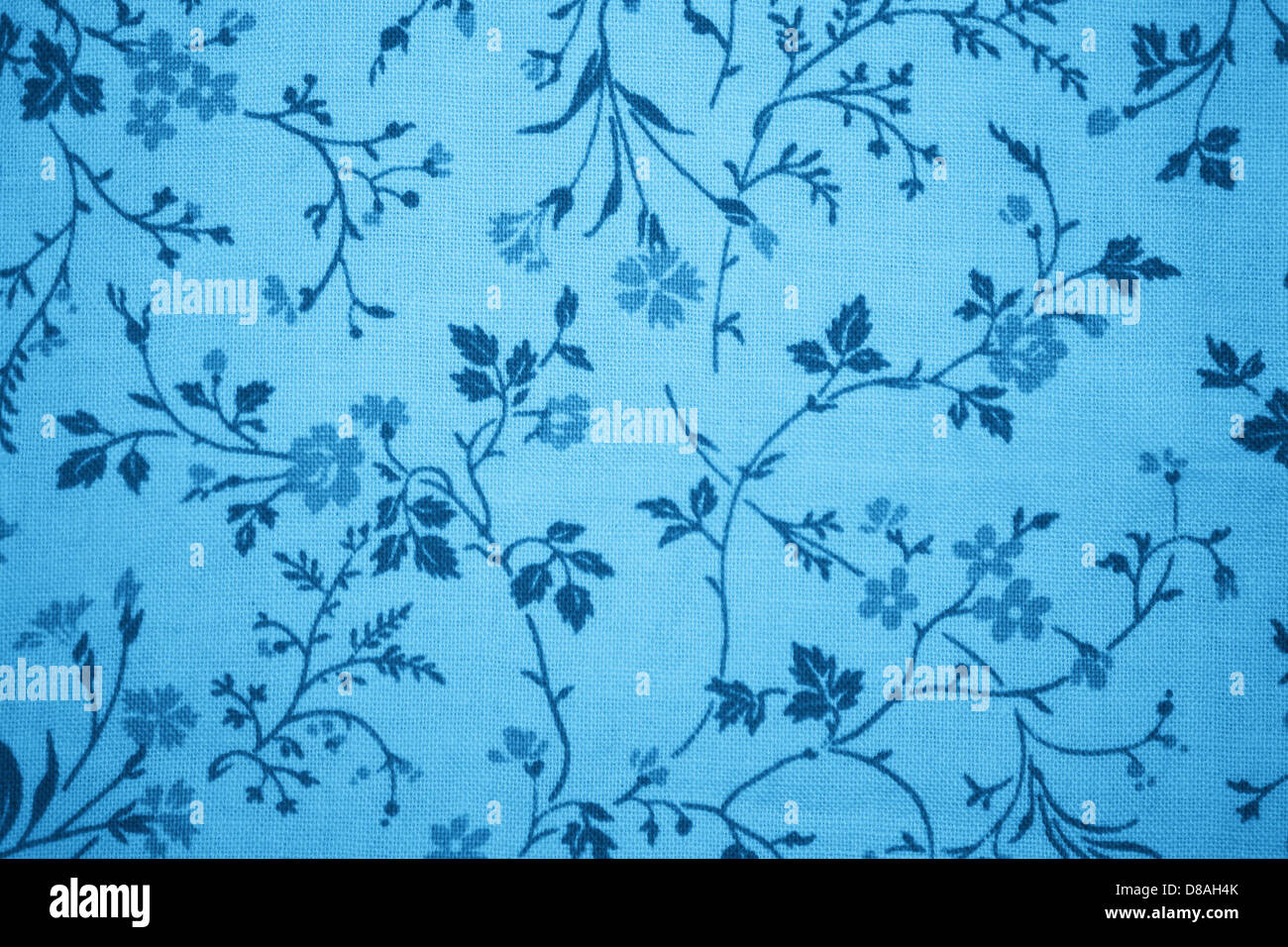 sky blue floral print fabric texture Stock Photo, Royalty Free ... for Fabric Texture Design Blue  117dqh