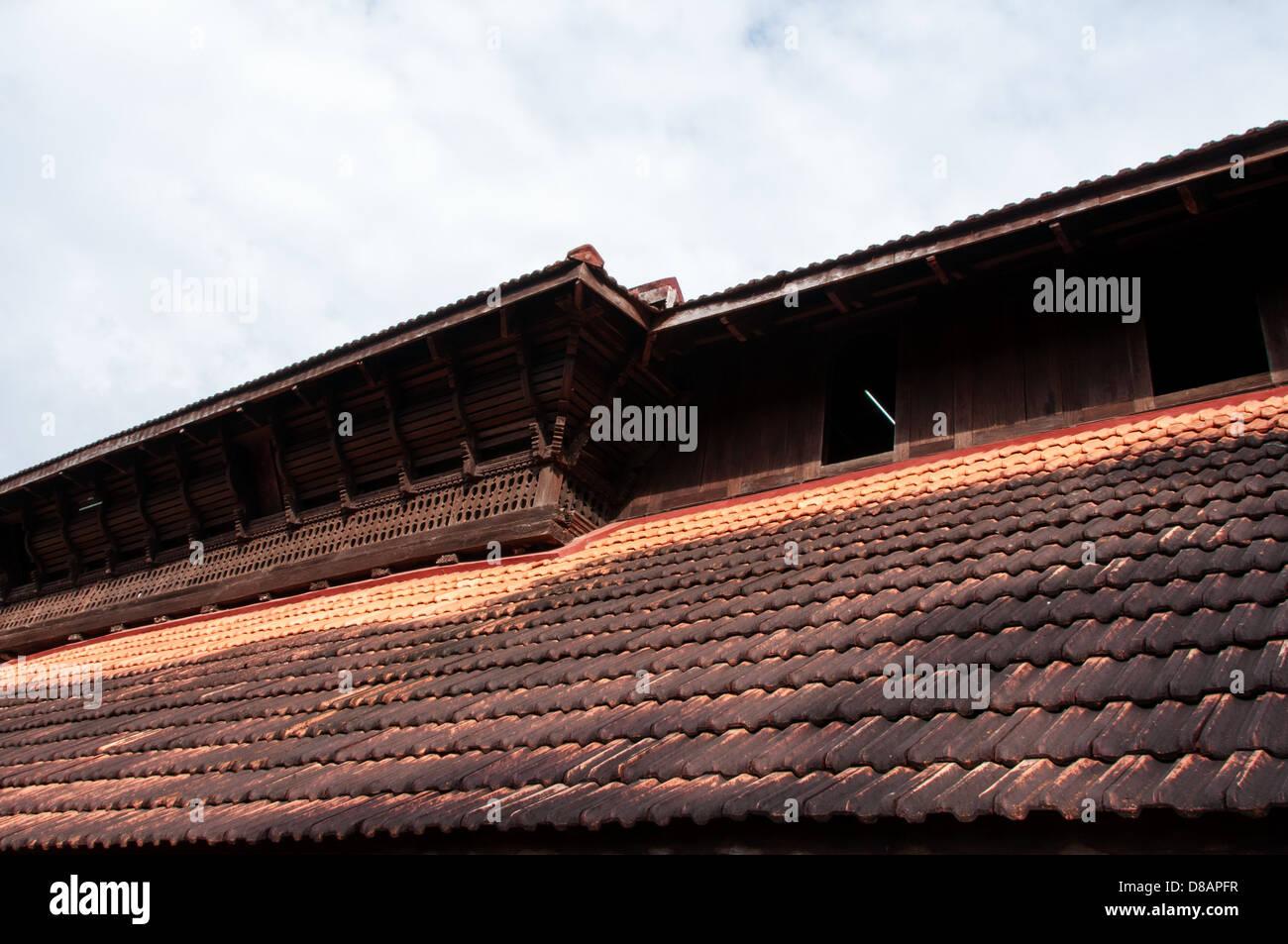 Stock Photo - Traditional roof tiles India & Traditional roof tiles India Stock Photo Royalty Free Image ... memphite.com