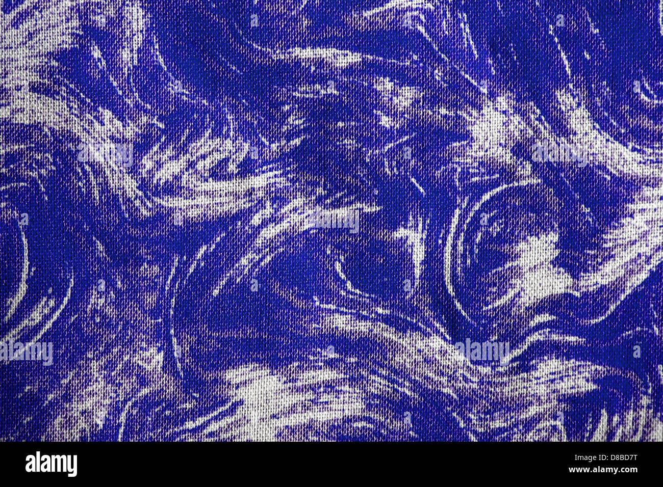 fabric texture with royal blue swirl pattern Stock Photo, Royalty ... for Fabric Texture Design Blue  83fiz